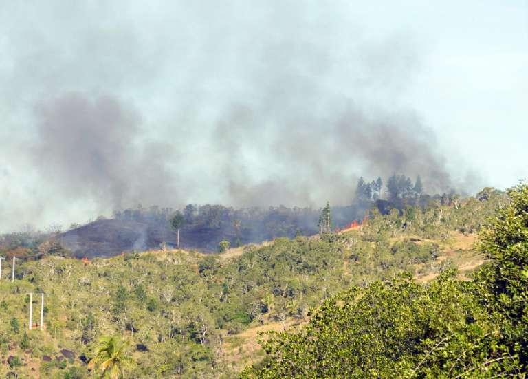 Canala: incendies à Boakaine et à Nakéty, quatre habitations brûlées
