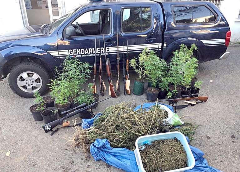 À La Foa, le pompiste faisait le plein et vendait du cannabis