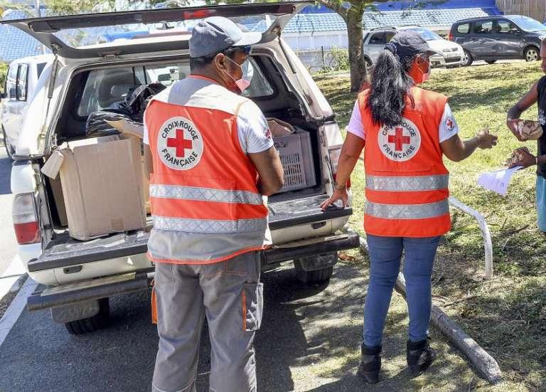 Huit bénévoles de la Croix Rouge mobilisés au Médipôle