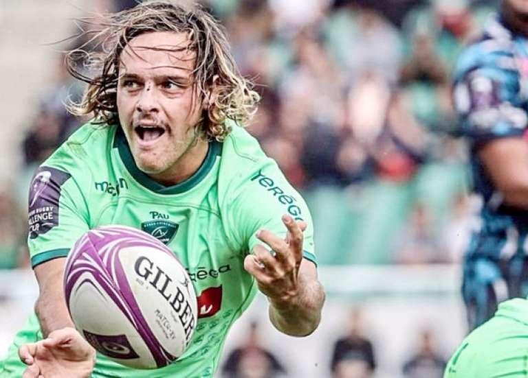 Rugby : Clovis Le Bail, l'anonyme de Pau à la porte des Bleus