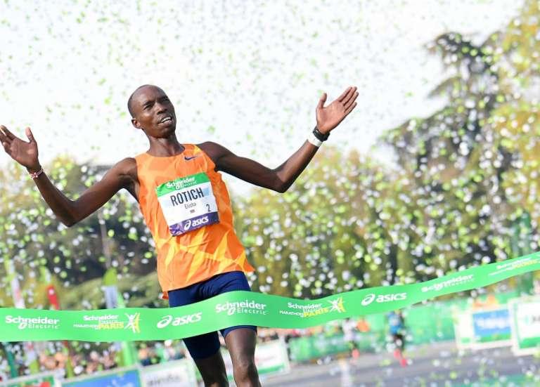 Le marathon de Paris a un nouveau recordman