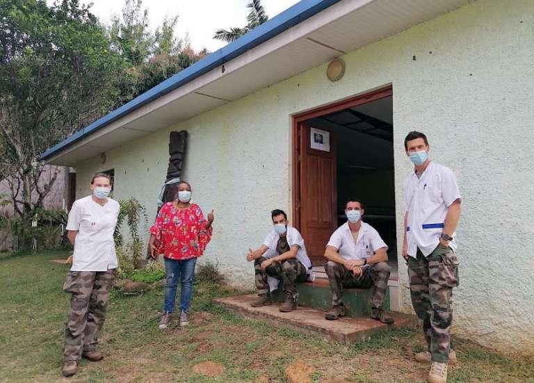 L'armée poursuit la vaccination à Thio