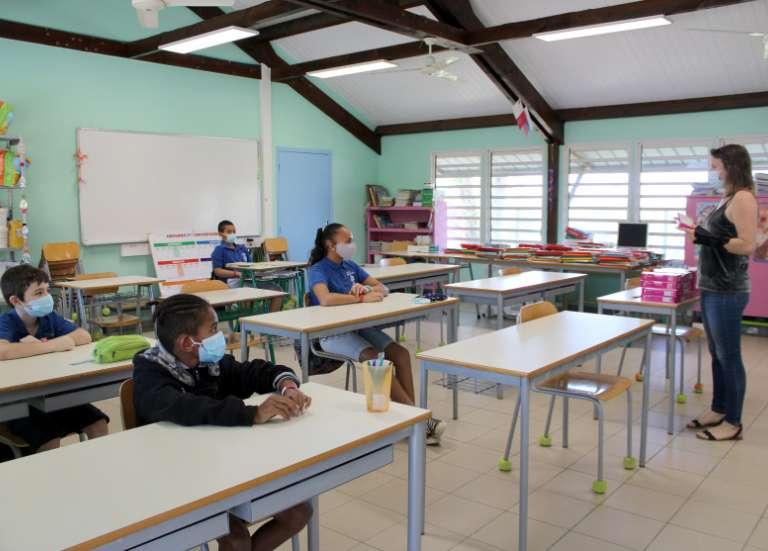 Retour à l'école pour les élèves du Grand Nouméa